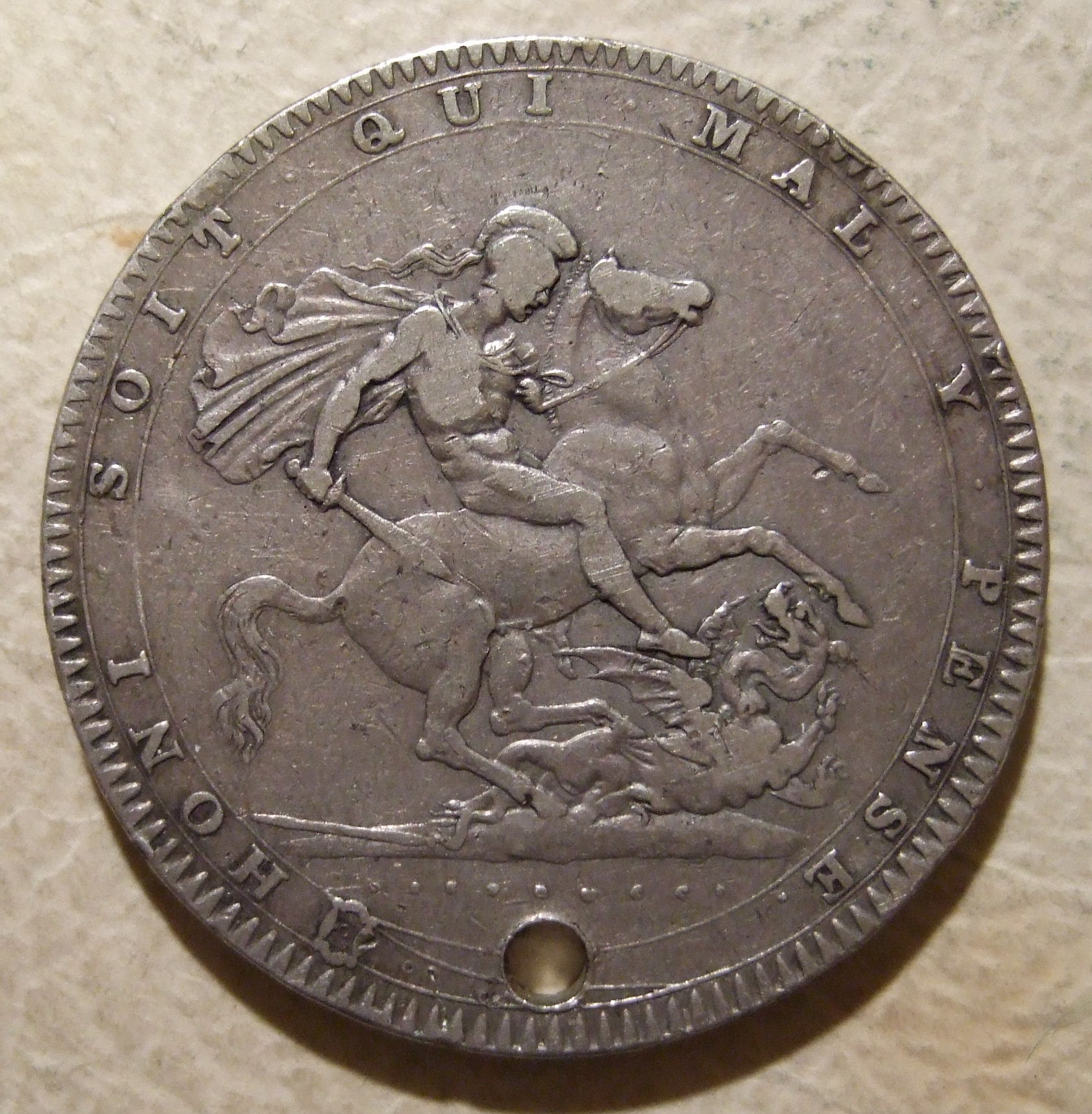 1819 Crown Piece