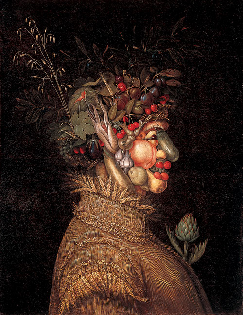 """Summer"" by Giuseppe Arcimboldo (1572) What is Surrealism and why is it important? What is Surrealism and why is it important? Giuseppe Arcimboldo 2C Italian 3B Summer 3B 1572"