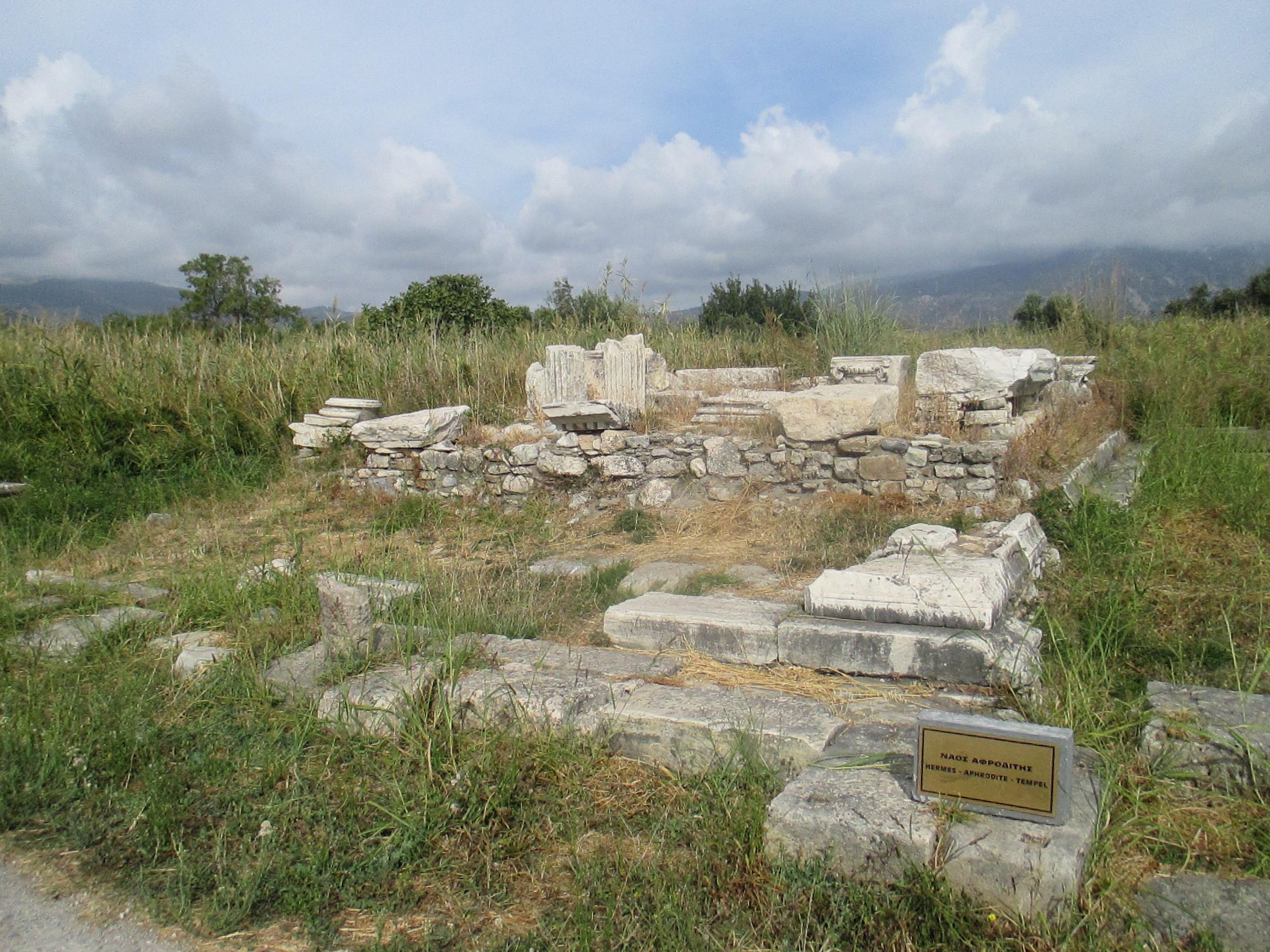 File Heraion Of Samos Temple Of Aphrodite Jpg Wikimedia Commons