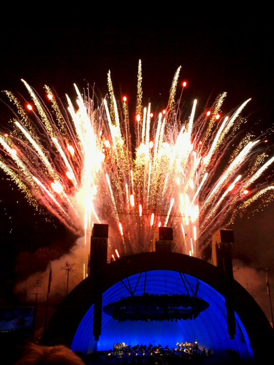 July 4th Fireworks Spectacular at the Hollywood Bowl 2010