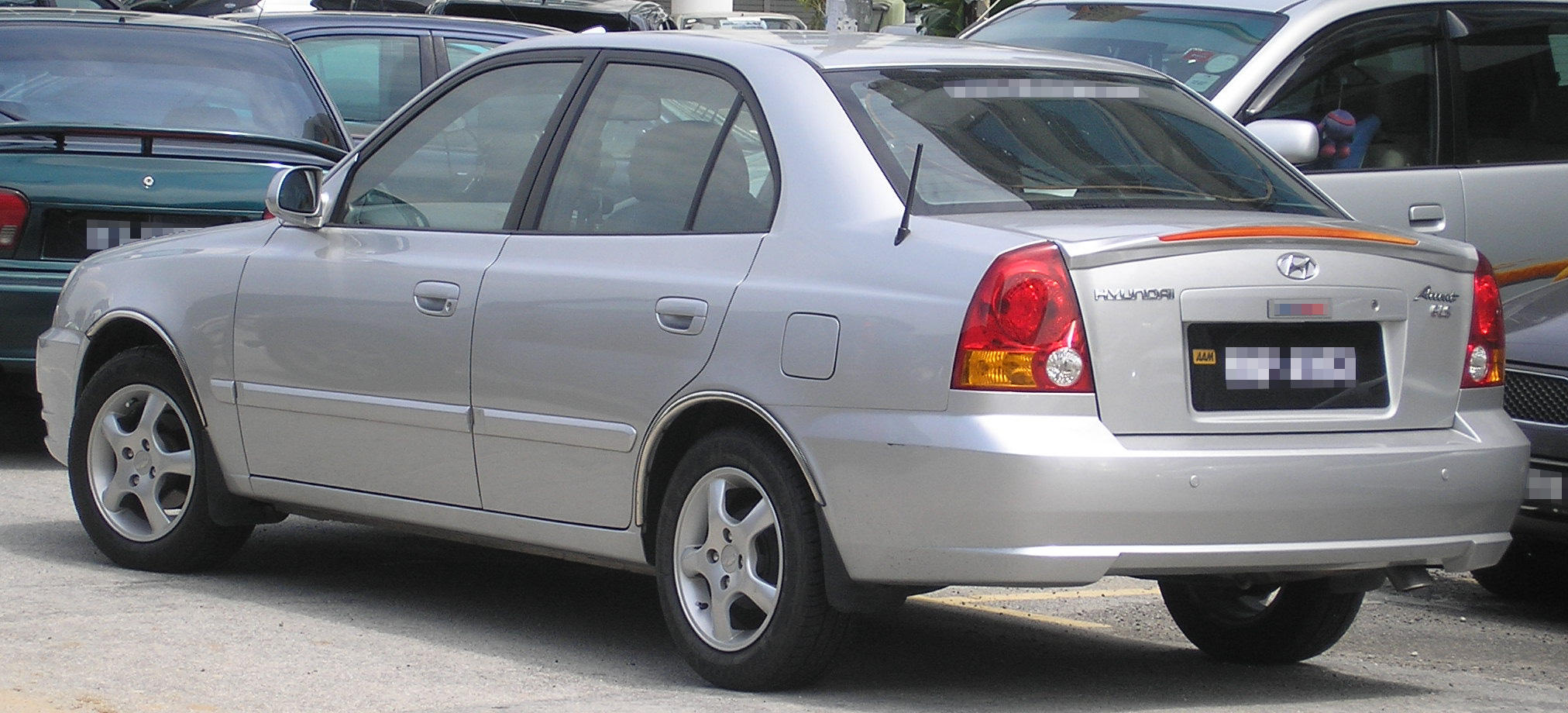 File Hyundai Accent Second Generation First Facelift