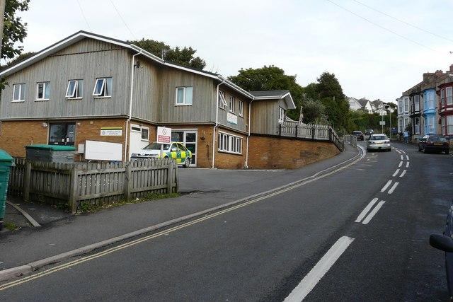 File:Ilfracombe Ambulance Station on Malborough Road. - geograph.org.uk - 951634.jpg