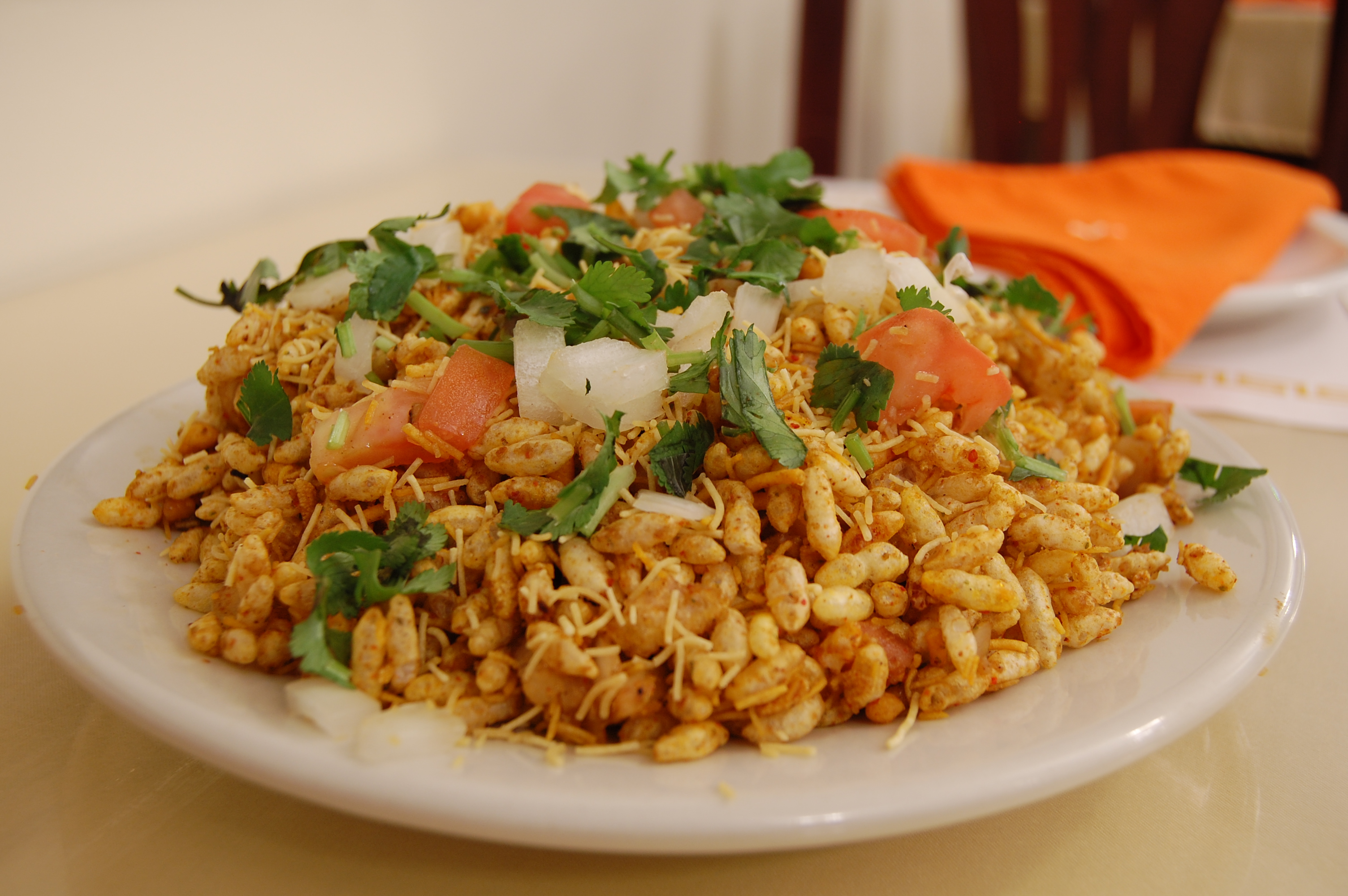 File indian cuisine chaat bhelpuri wikipedia for About indian cuisine