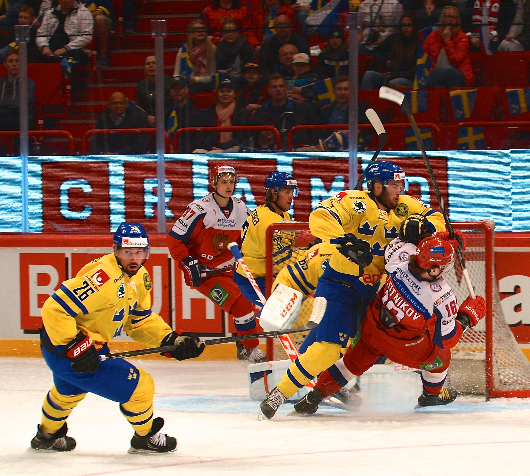 File:Ishockey Sweden-Russia (2-0) May 4th, 2014.jpg