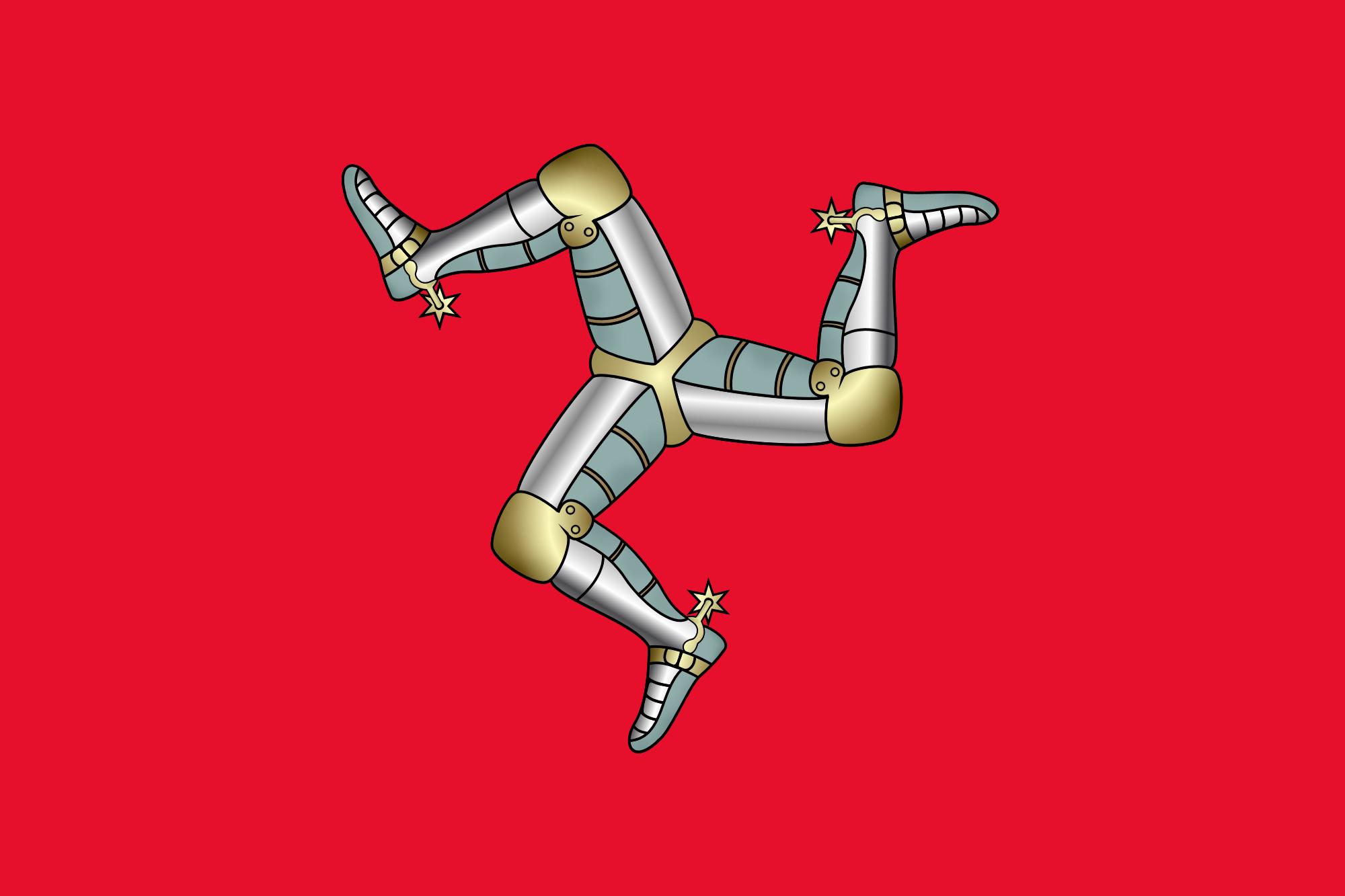 flagge isle of man