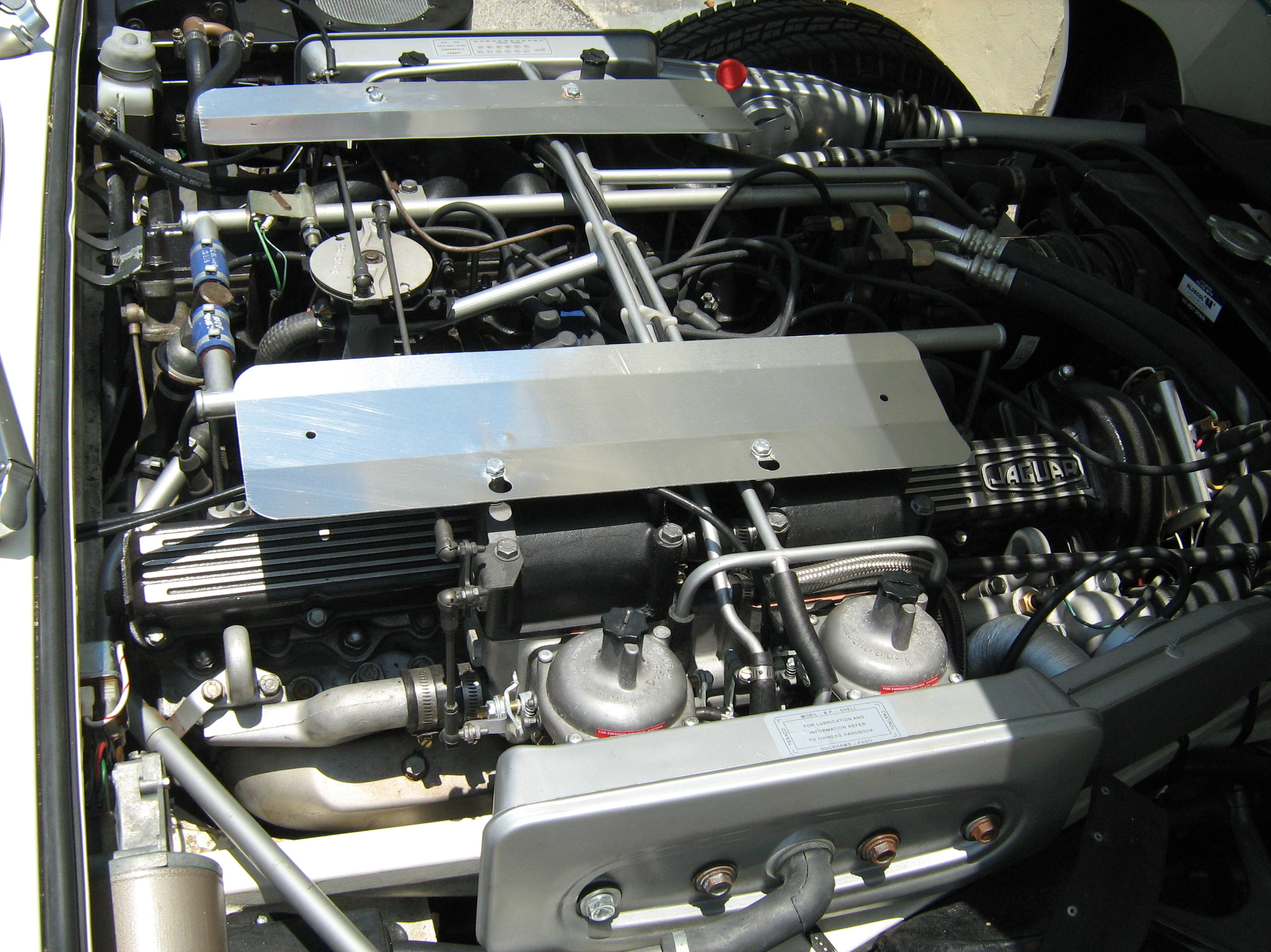 type jaguar the e sale engine in barn for