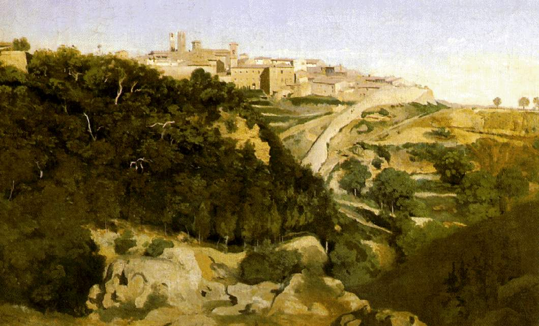 View of Volterra