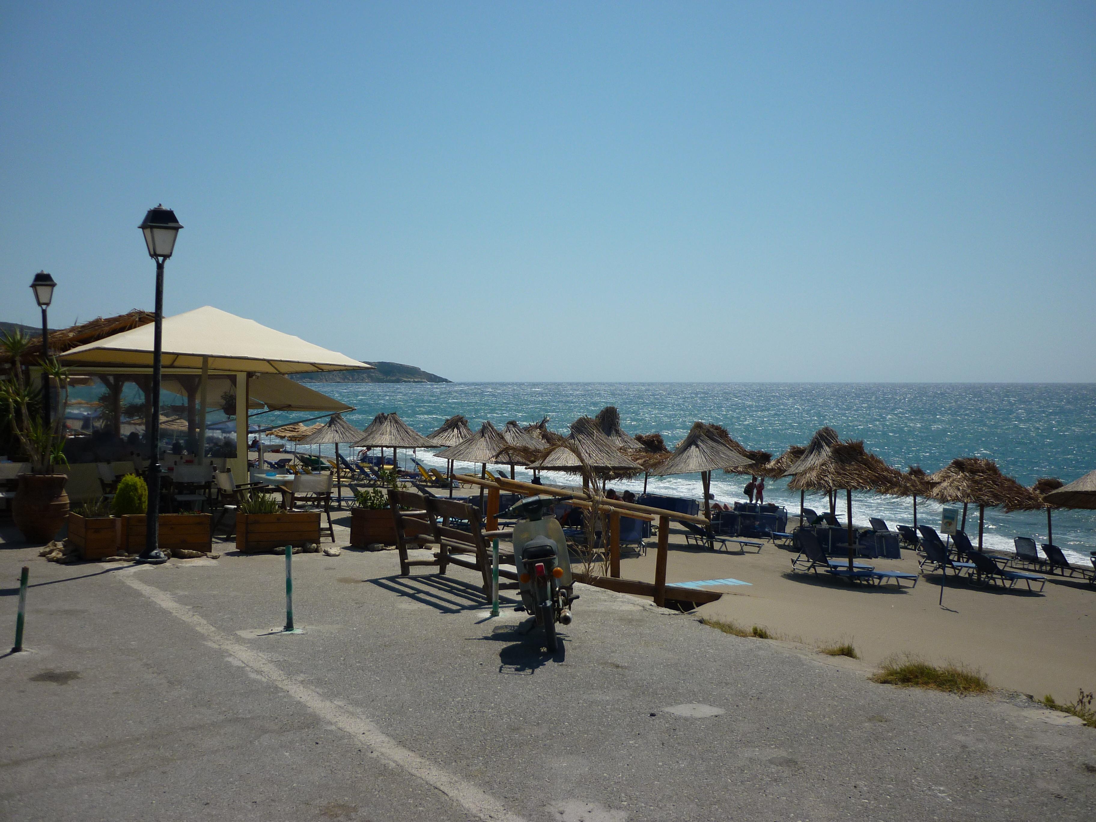 Kreta Kalamaki Strand Studios Dimitra Beach Hotel In Kalamaki