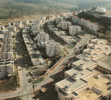 Modi'in Illit, one of the four biggest settlements in the West Bank
