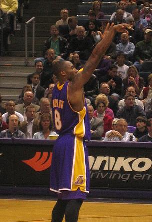 Kobe Bryant Injury Free Throws