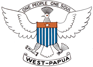 English: Coat of arms of Republic of West Papu...
