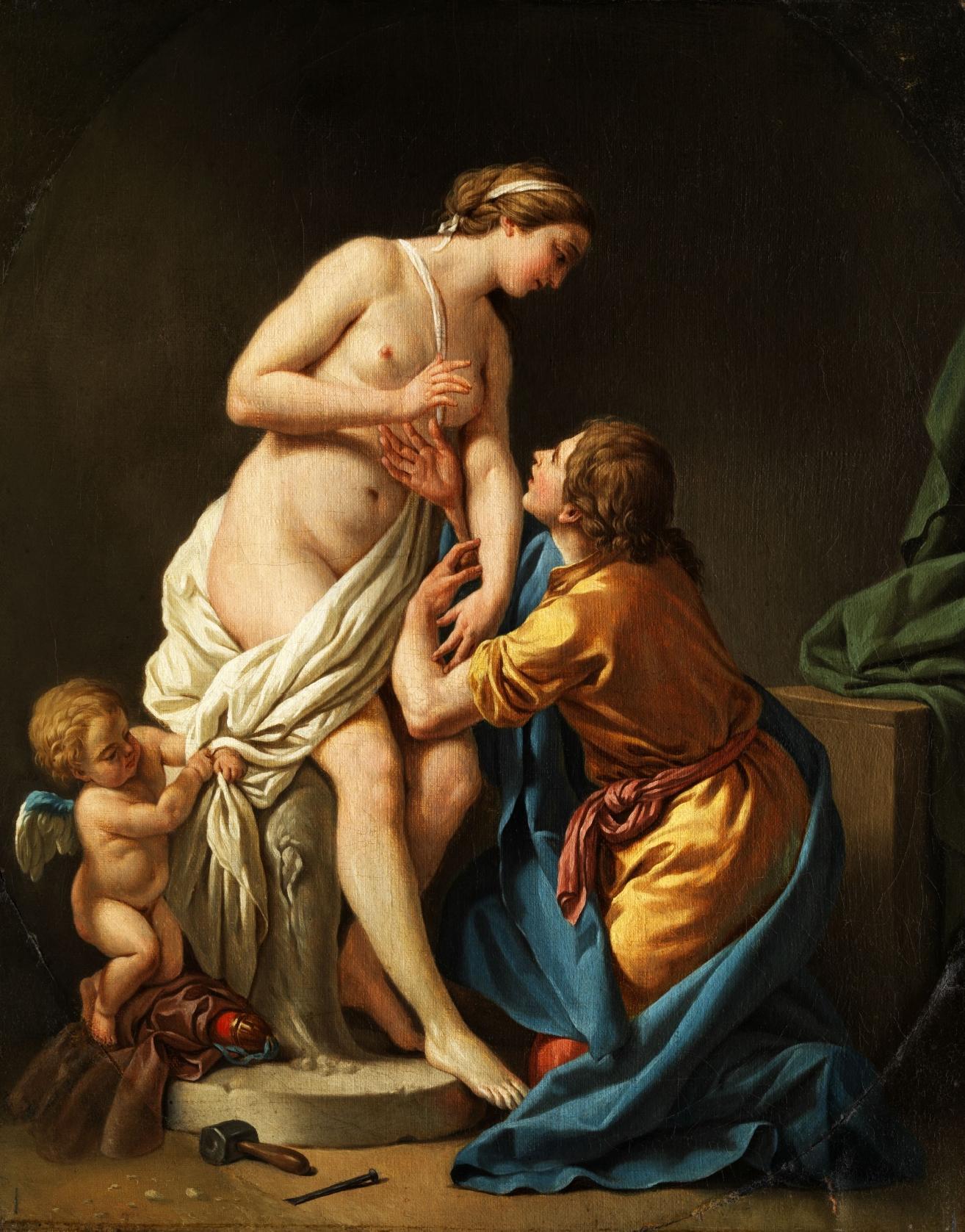 Αποτέλεσμα εικόνας για PYGMALION AND GALATEA - Louis Jean François Lagrenée