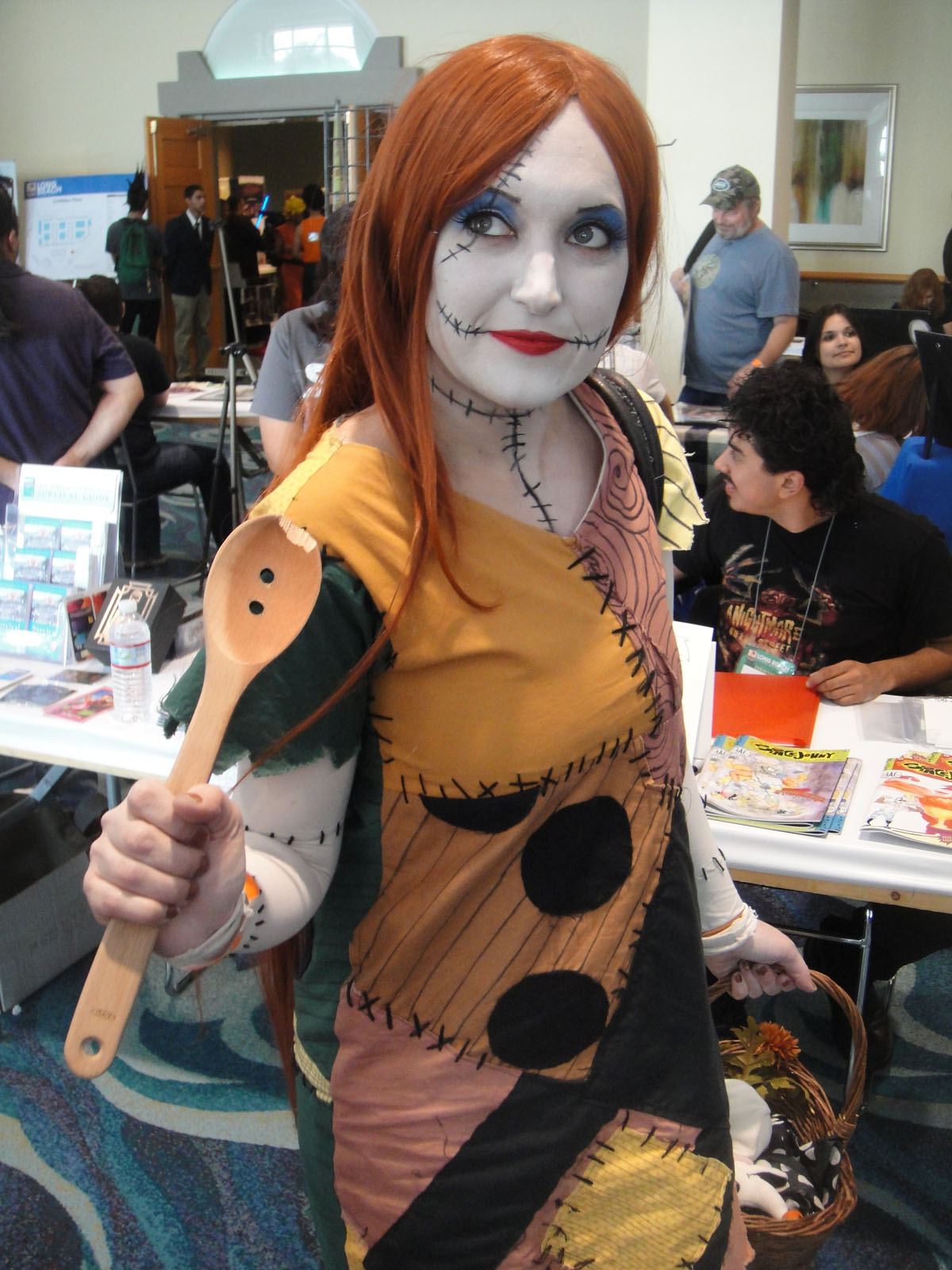File:Long Beach Comic Expo 2012 - Sally from the Nightmare Before ...