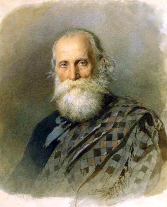 Портрет работы С.Ф. Александровского, 1882