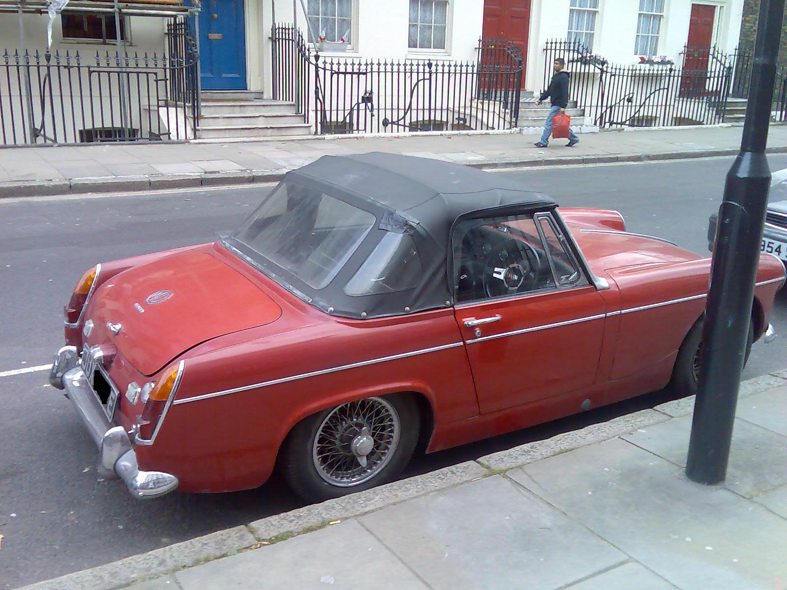 Want red mg midget