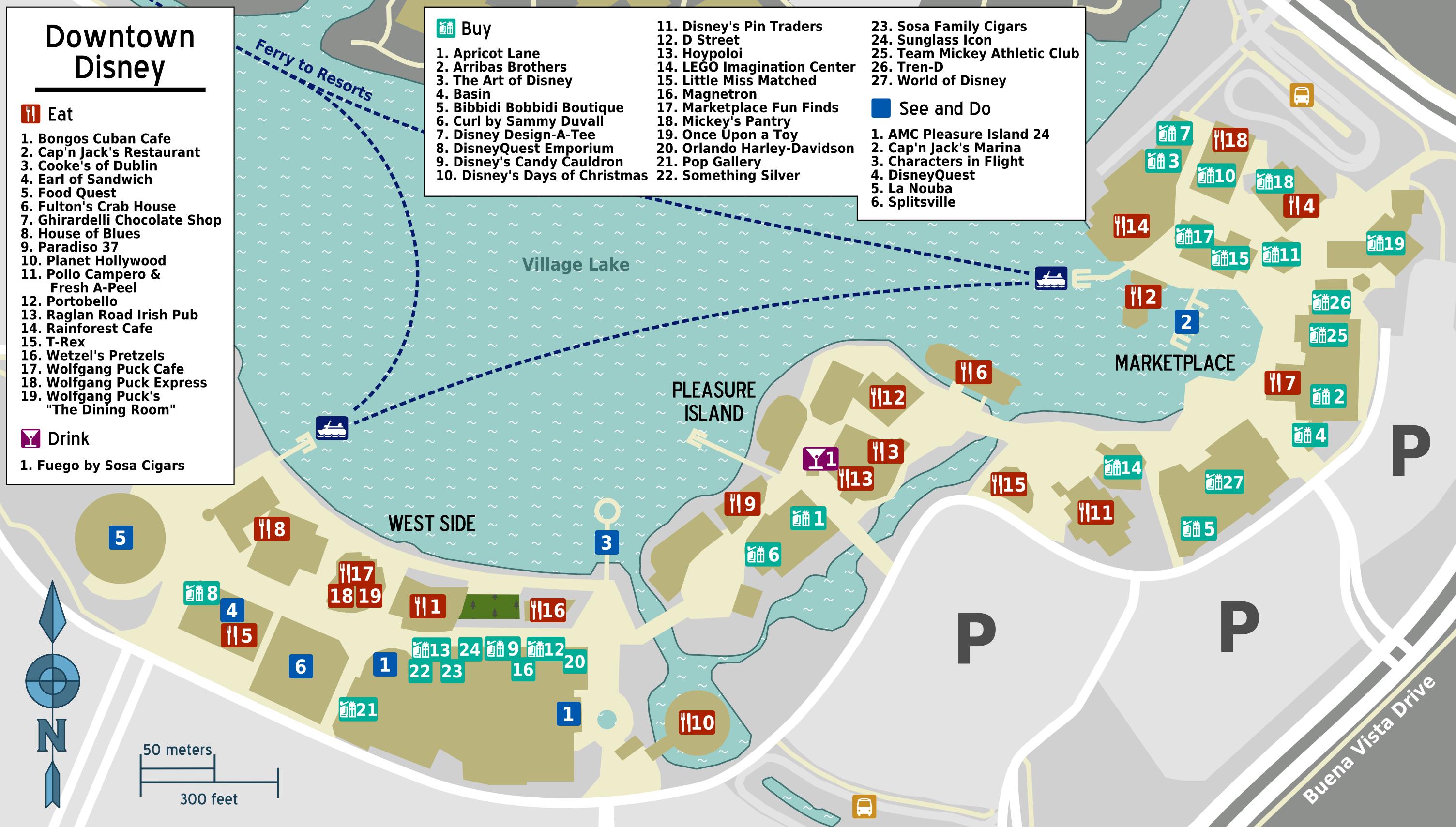 File:Map - Walt Disney World - Downtown Disney.png ... on disney springs map, lake buena vista map, magic kingdom map, disney monorail map, disneyland map, disney boardwalk map, disney animal kingdom map, disney resort map, seaworld map, california adventure map, epcot map, disney channel map, discovery cove map, disney parks map, typhoon lagoon map, disney quest map, anaheim map, disney world map, orlando map, disney area map,