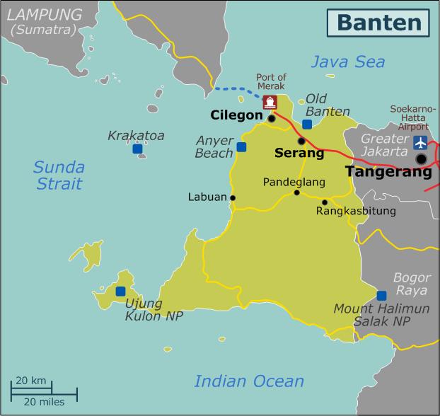 FileMap of Banten region Wikivoyagepng Wikimedia Commons