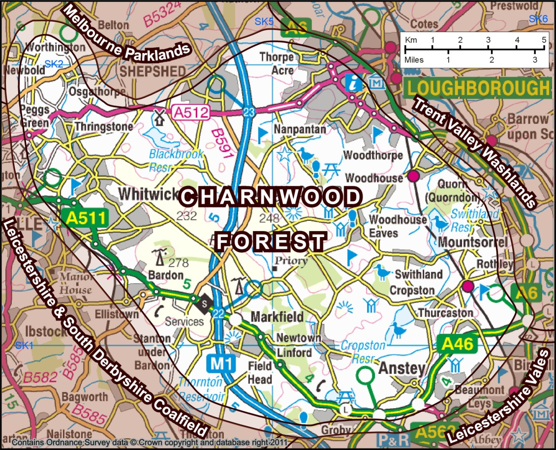 Charnwood Forest Simple English Wikipedia The Free