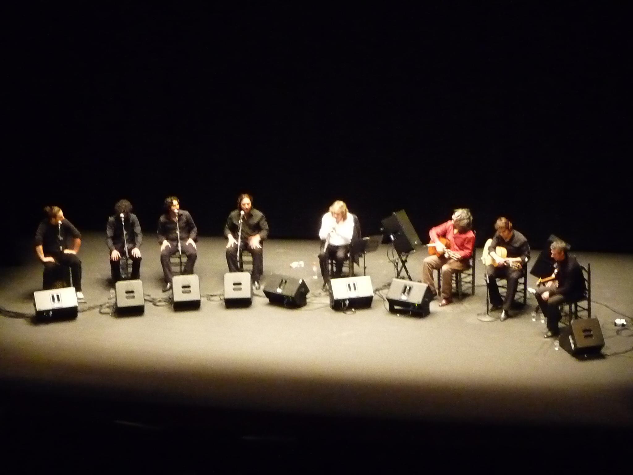 Concierto en el Teatro Villamarta de Jerez.