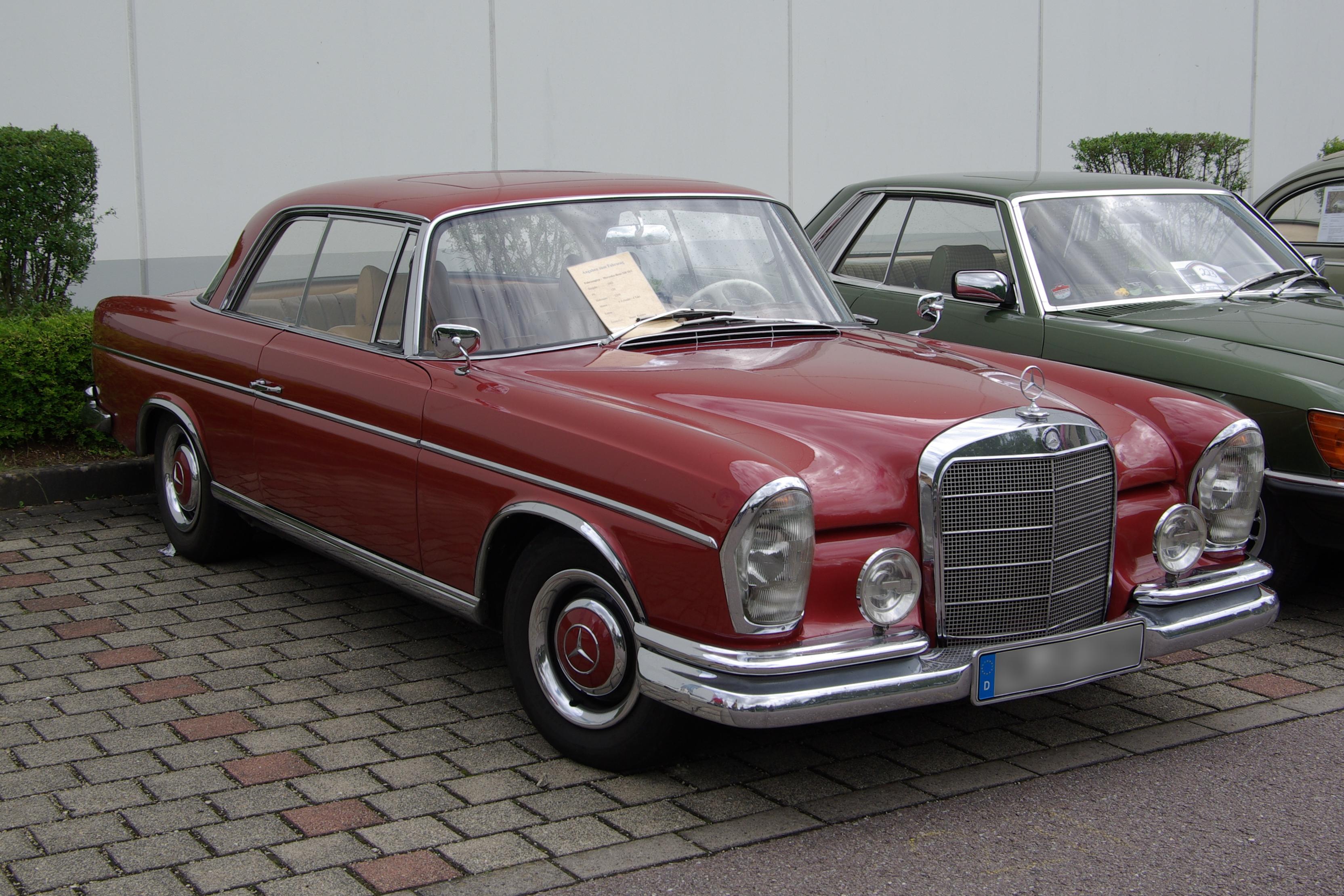 Mercedes Ponton For Sale