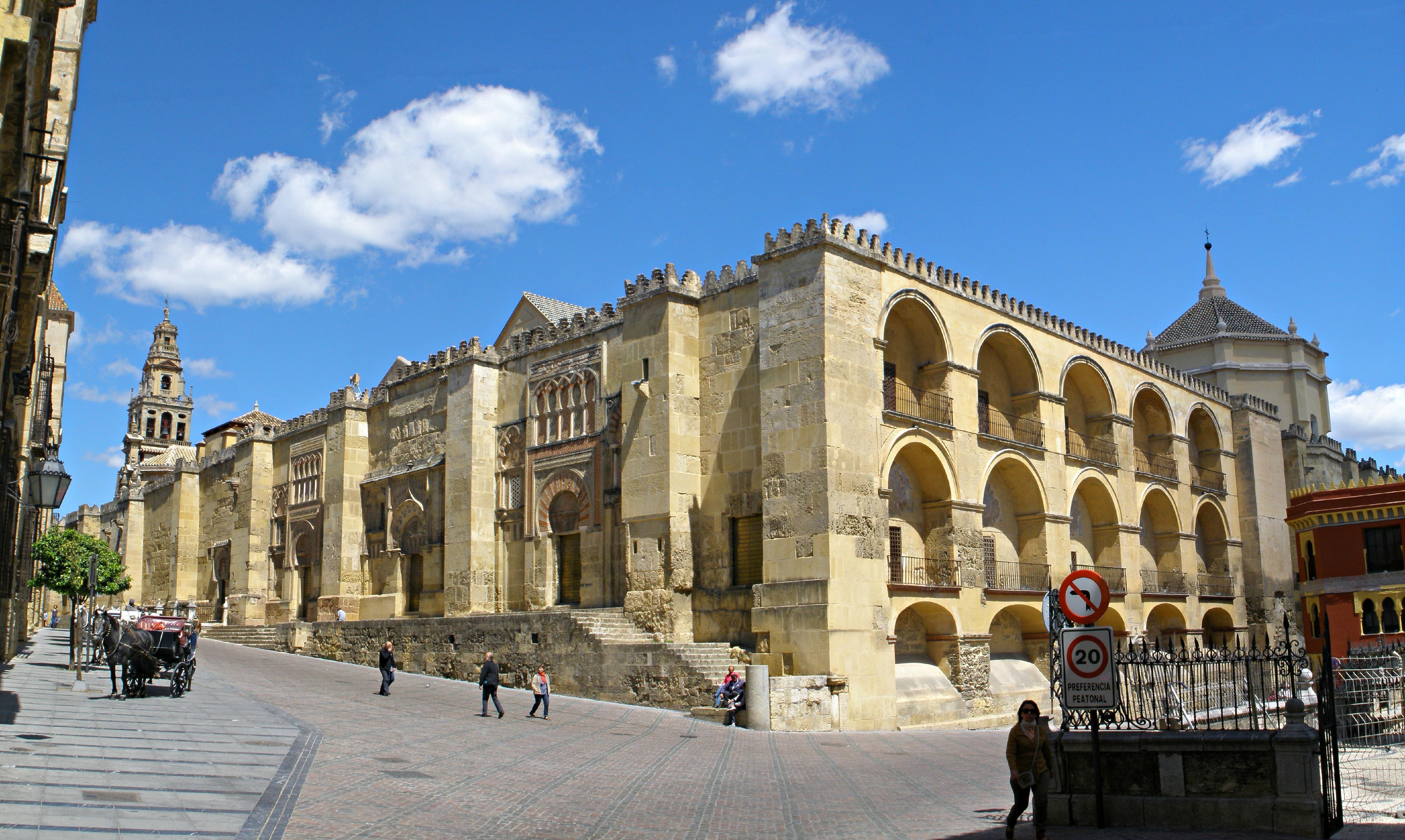 File mezquita de c rdoba exterior del muro de la quibla for Interior mezquita de cordoba