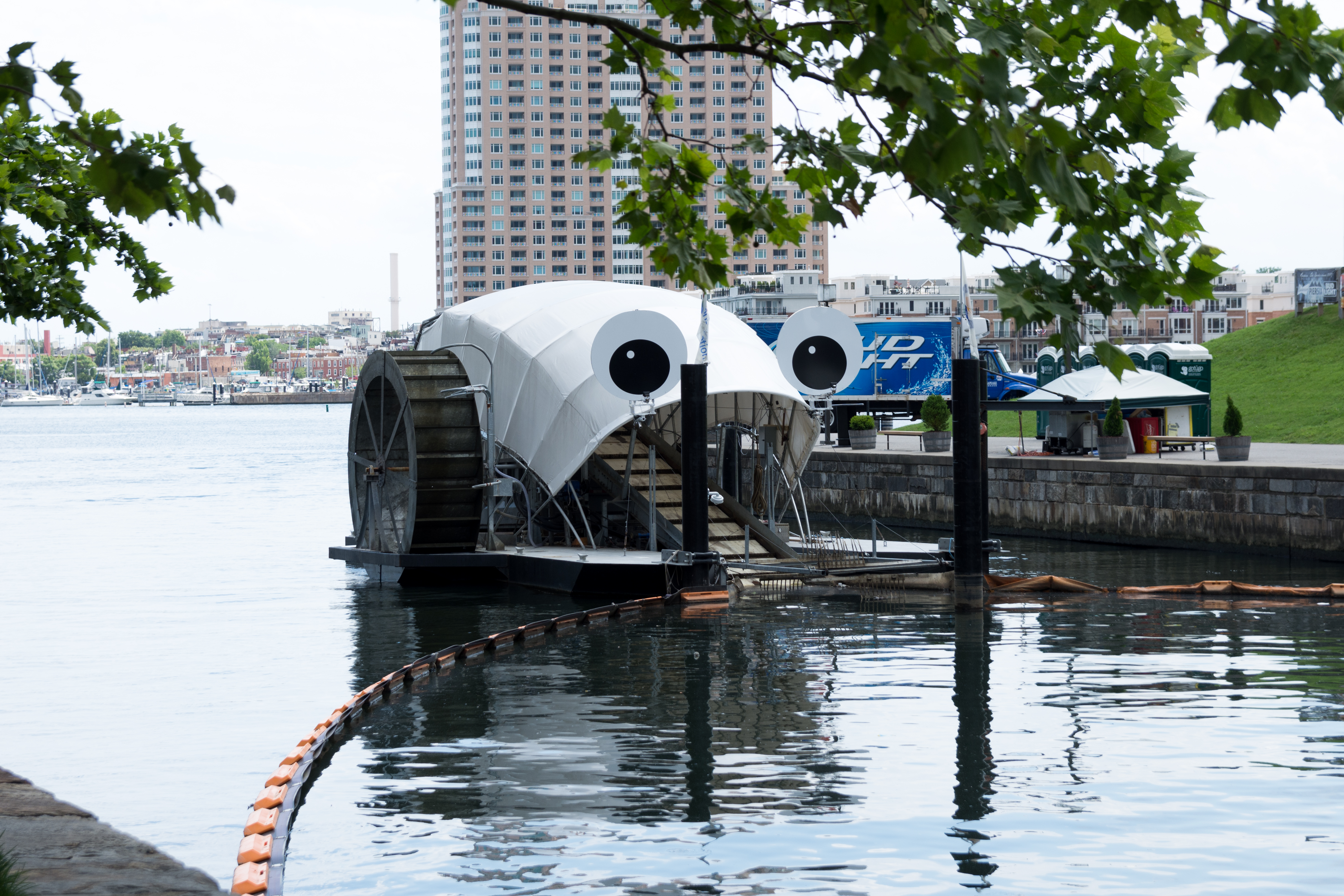 There S Too Much Trash In The Chicago River We Are Building A Robot Controlled By You To Clean It Up