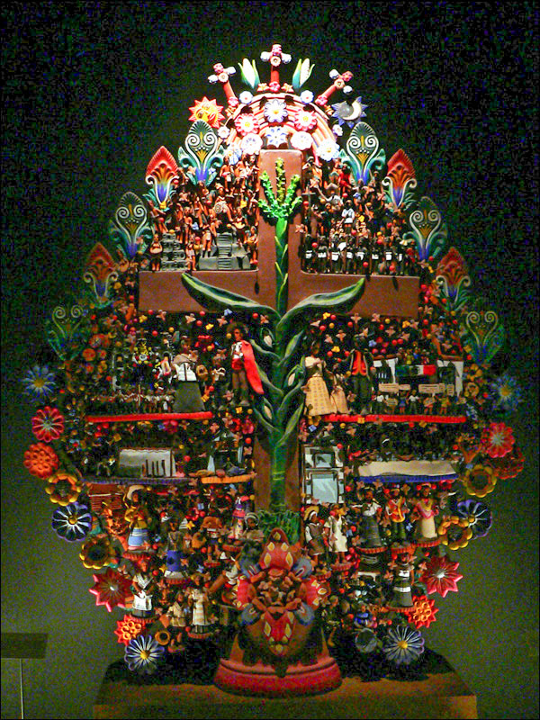 Fichier Musee National Anthropologie Arbre De Vie Jpg Wikipédia