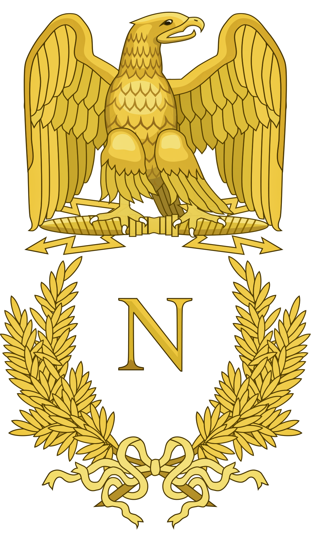 file napoleon bonaparte logo png wikimedia commons crest vector and meaning crest vector and meaning