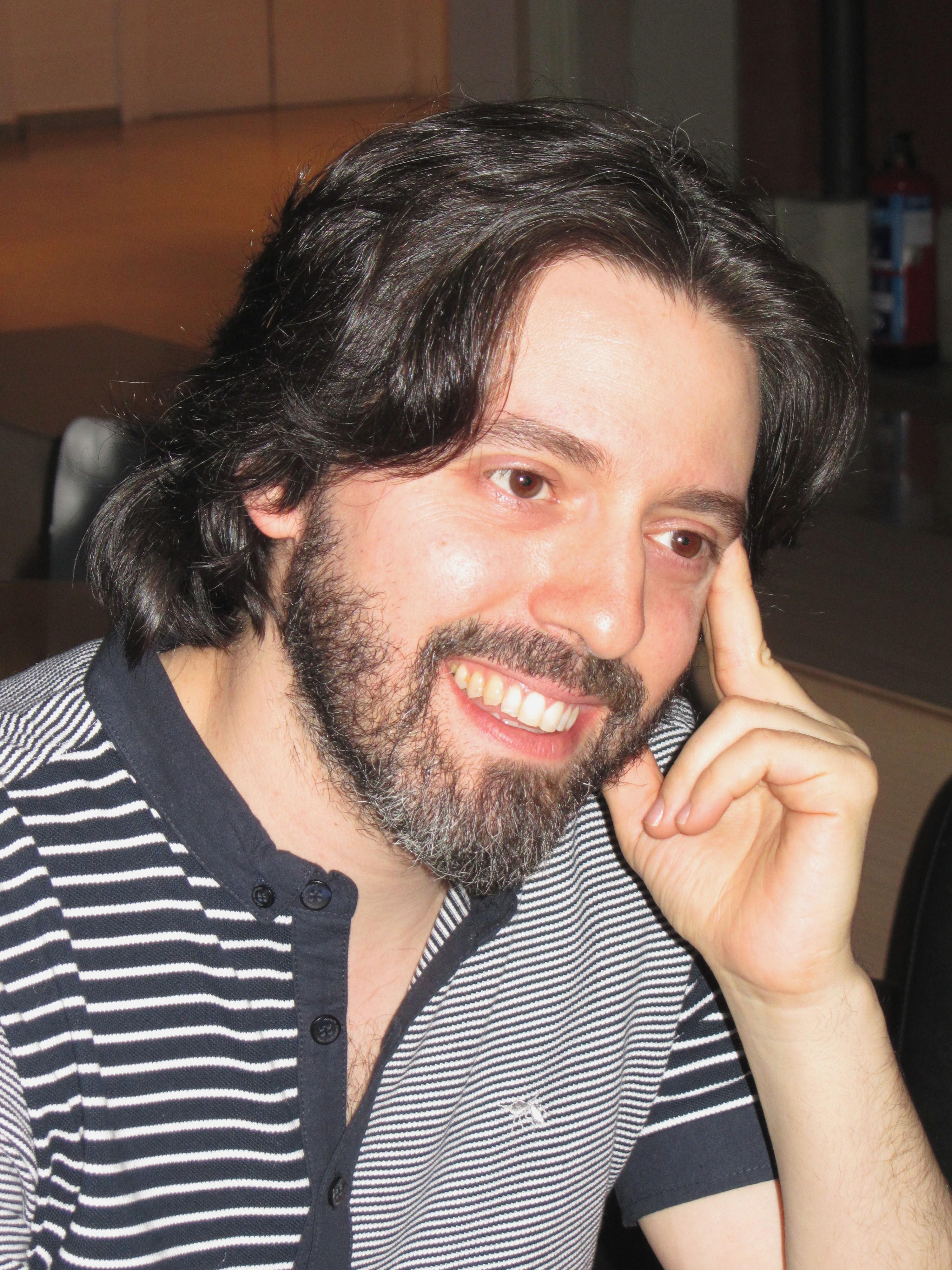 Neuman en la Casa de América, Madrid, octubre 2012.