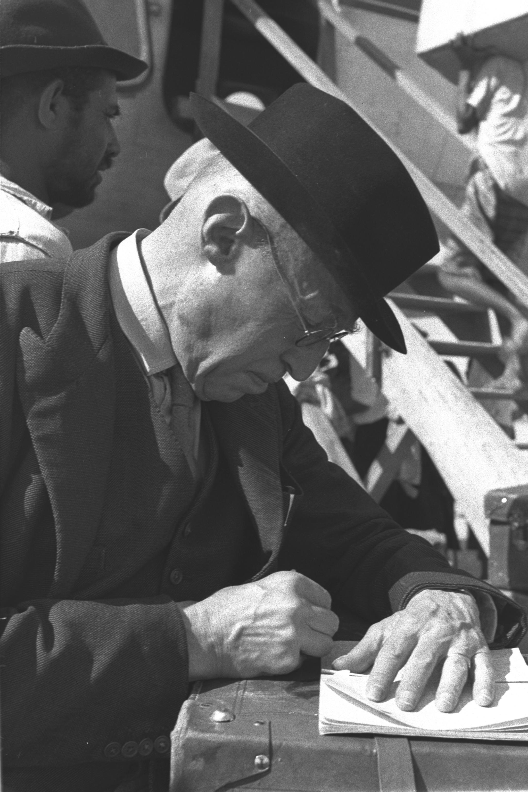 Norman Bentwich in 1950