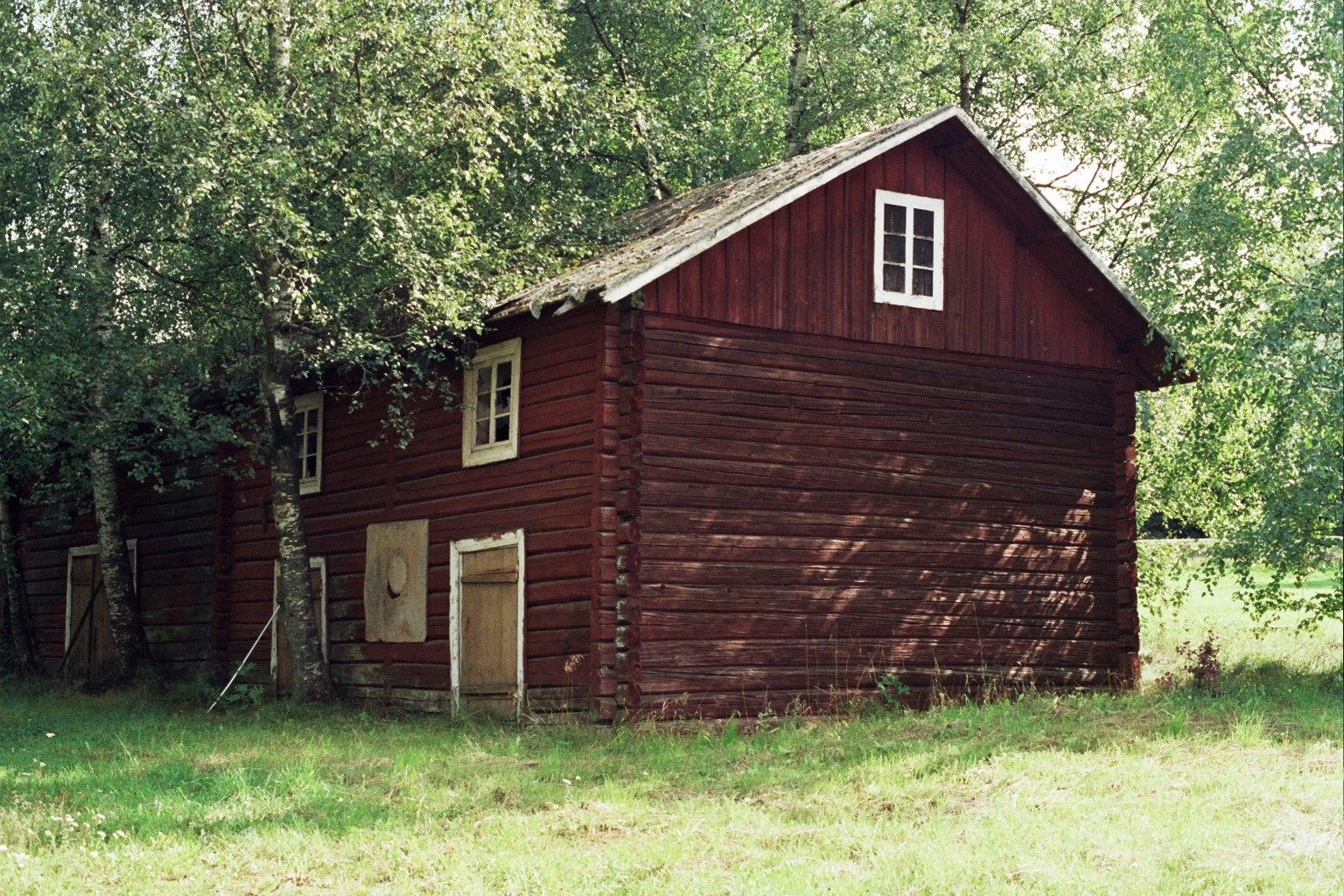Old Wooden Shed Ksheda