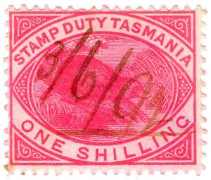 Revenue stamps of Tasmania