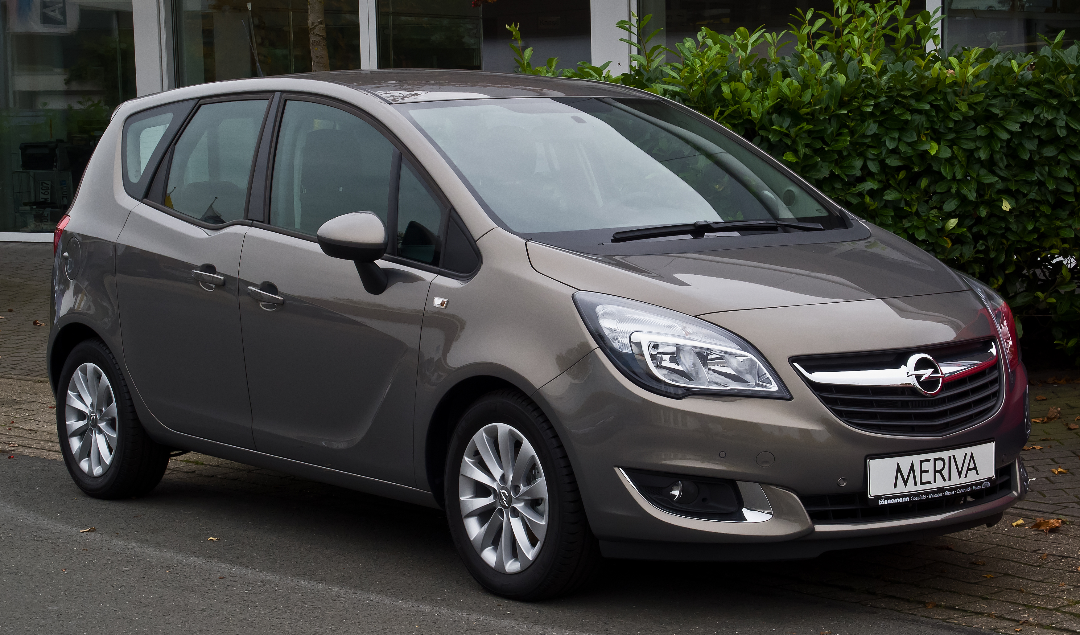 file opel meriva 1 4 style b facelift frontansicht 24 oktober 2015 m. Black Bedroom Furniture Sets. Home Design Ideas