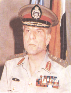 Ibrahim El-Orabi Egyptian lieutenant general