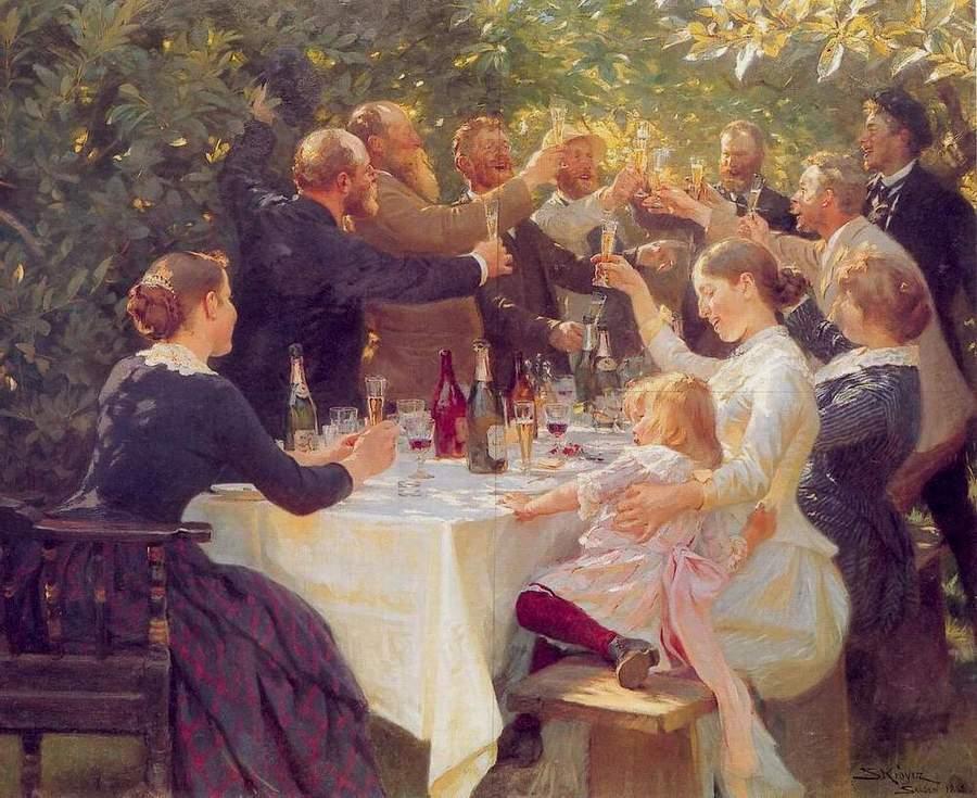kunstnerfest på skagen 1888