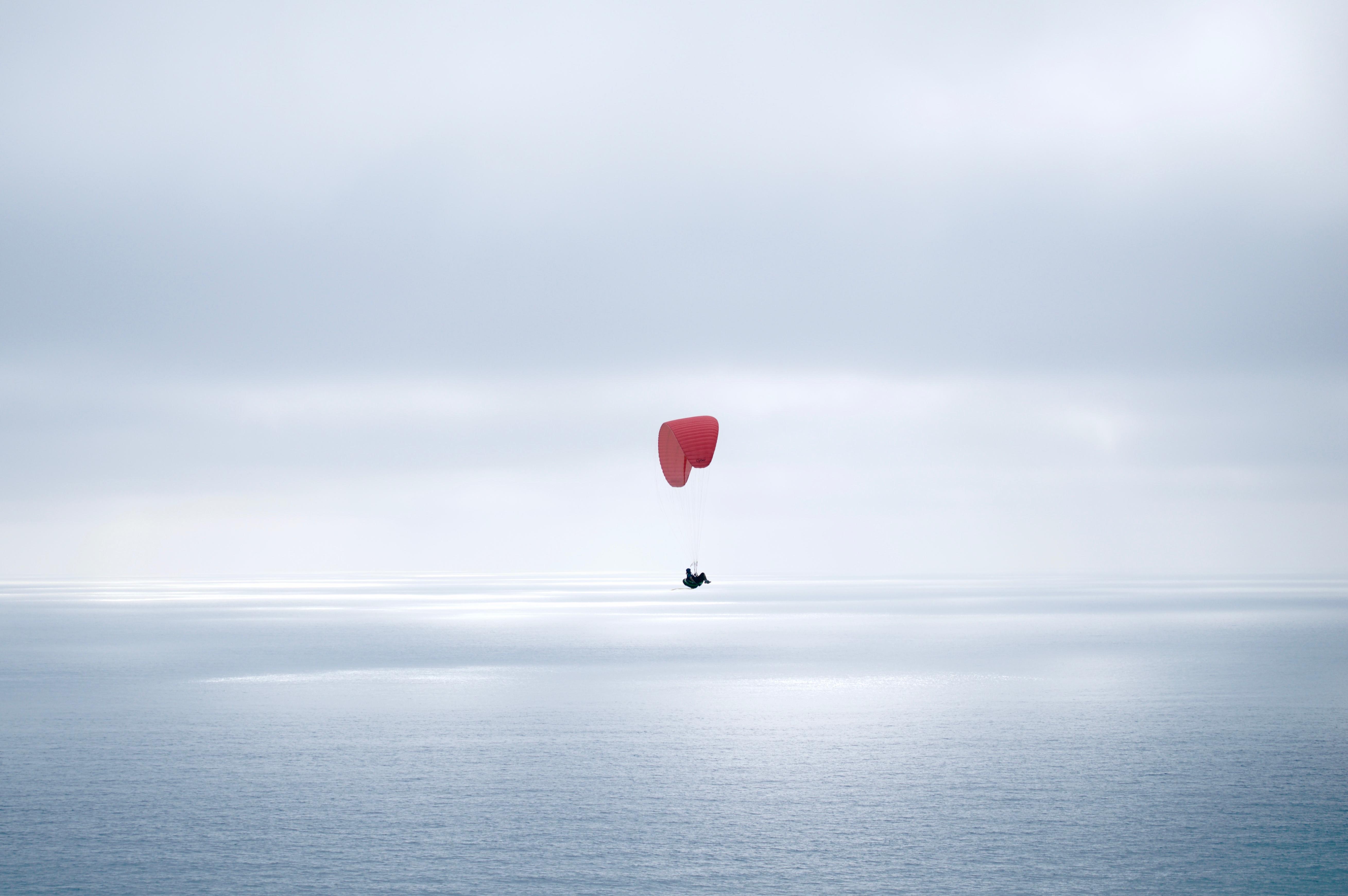 File:Paraglider at Black's Beach, La Jolla, San Diego