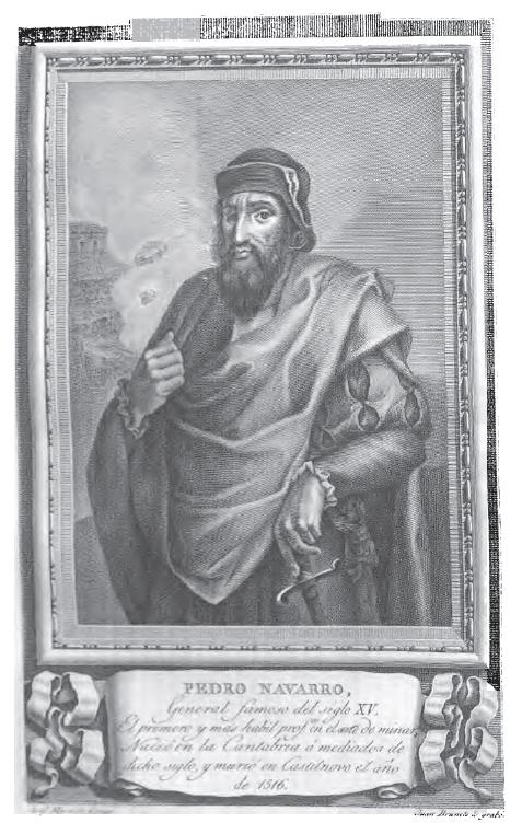 Depiction of Pedro Navarro