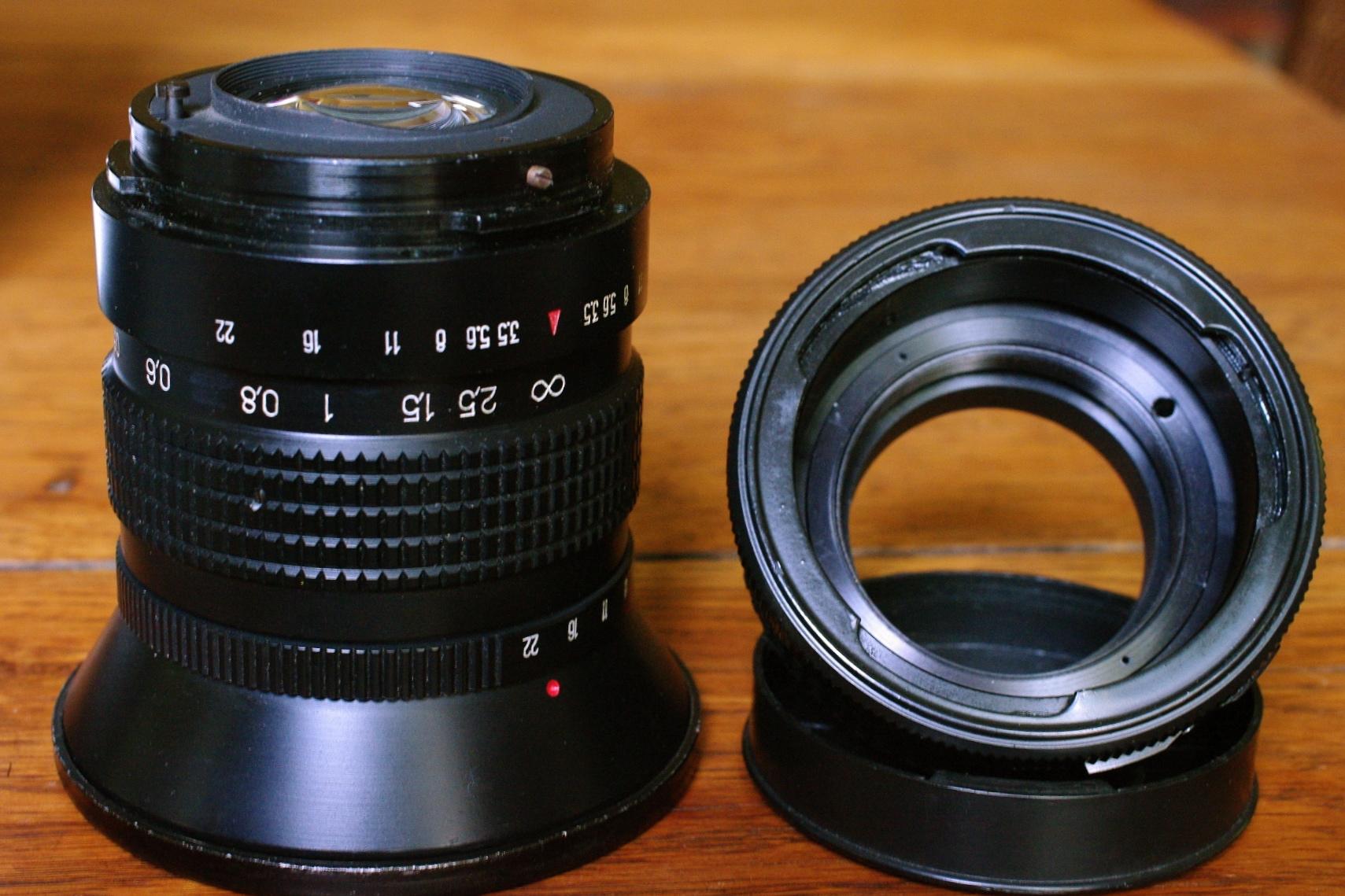 Hartblei Pentacon Six 6 P6 Kiev 60 88CM Lens to Contax 645 Adapter with Tilt 6/°