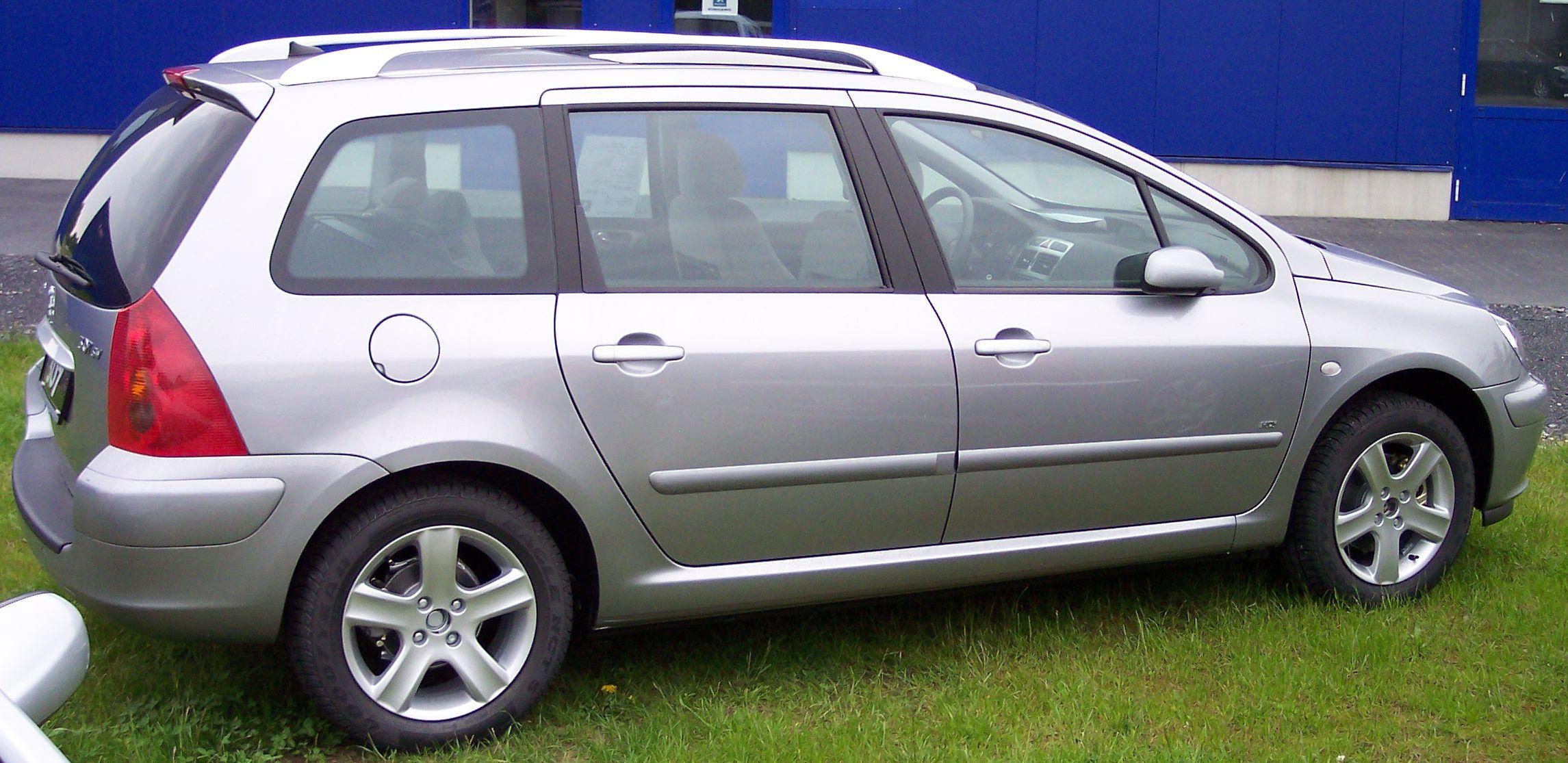File Peugeot 307 Sw Silver R Jpg