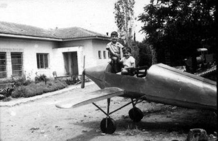 מטוס שנבנה ליום הילד