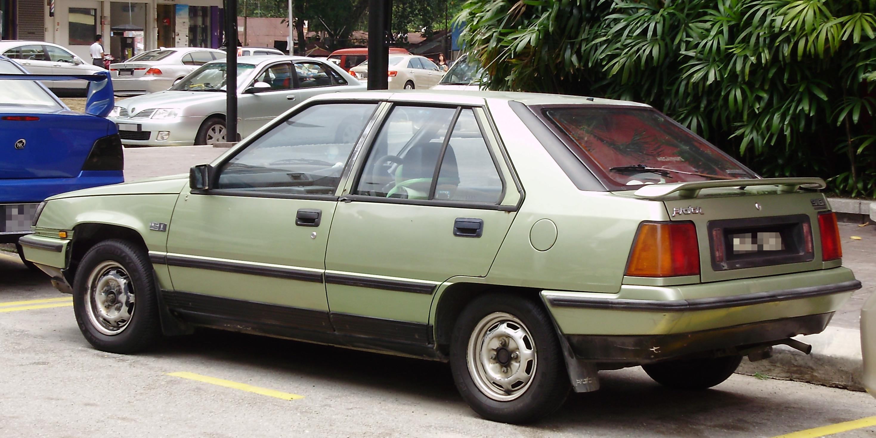 Proton Saloon Aeroback hatchback (1 generation) 1.3 MT (75 hp) Auto Fiche