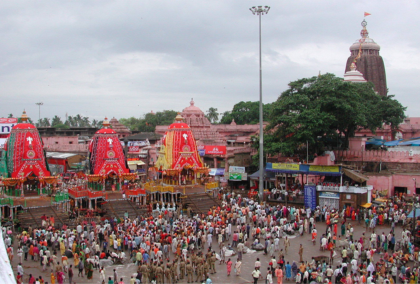 Lord Jagannath Temple - Puri - Orissa