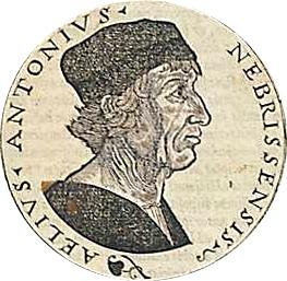 Antonio de Nebrija cover
