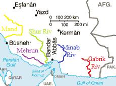 Mehran River river in Iran