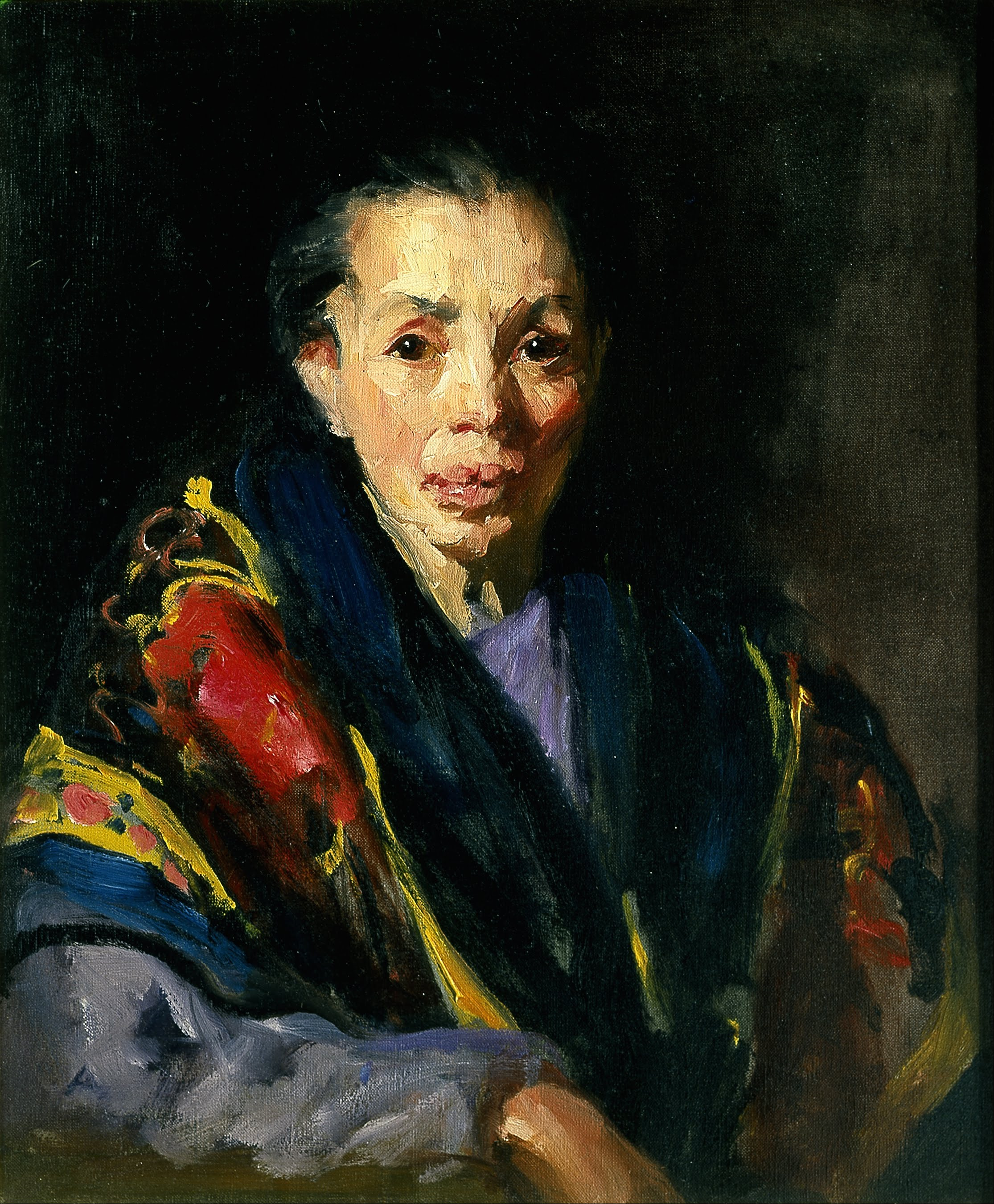 Old woman in spanish