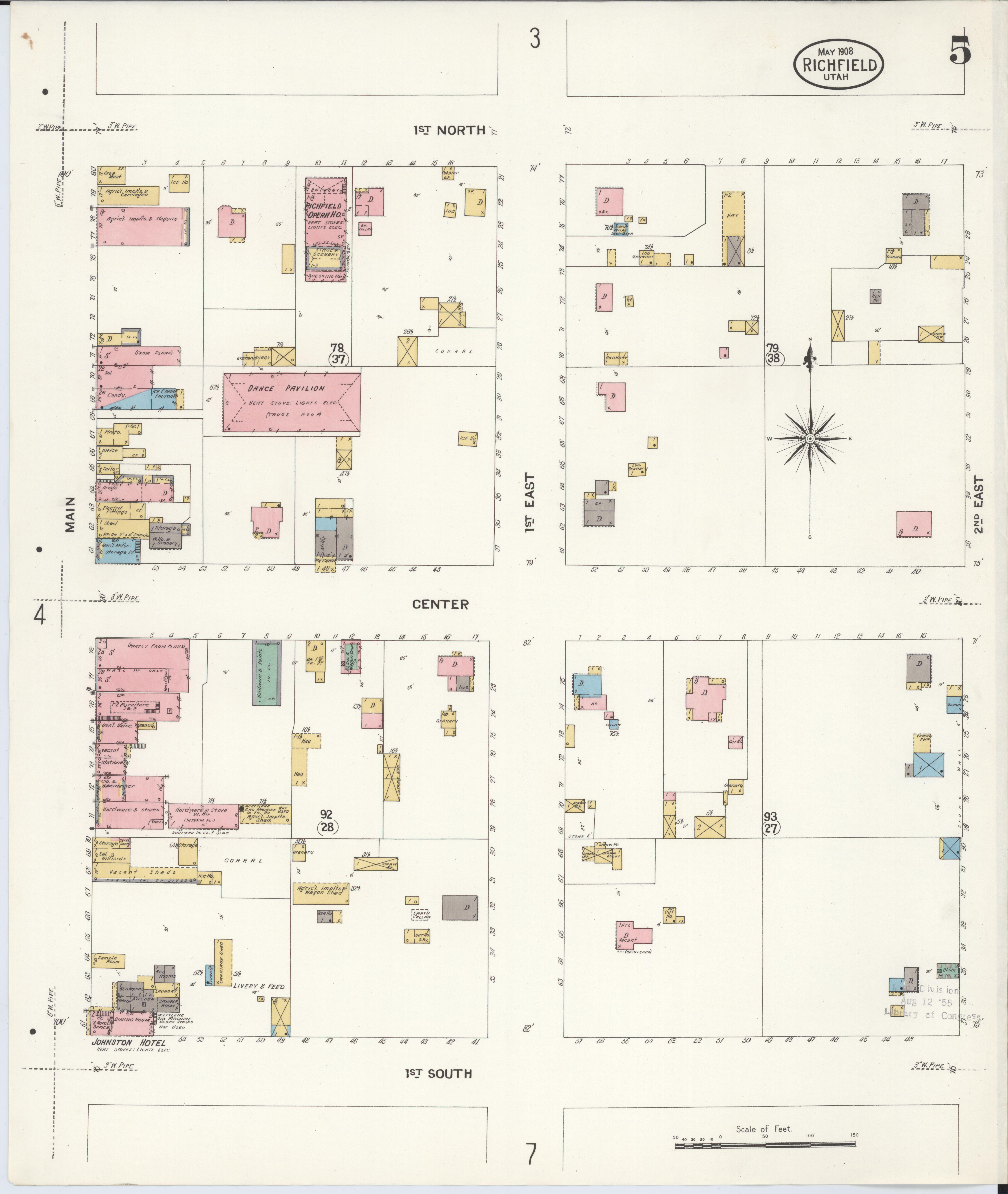 File:Sanborn Fire Insurance Map From Richfield, Sevier
