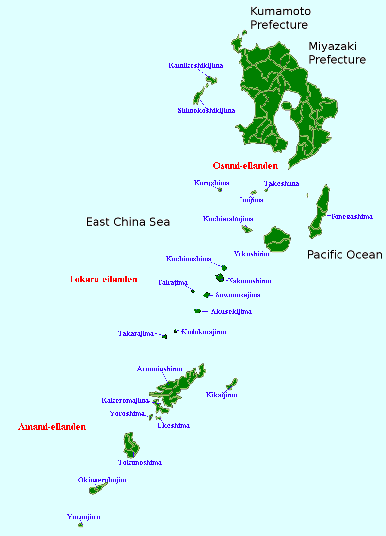 Amami Island Japan  city photo : Satsunan Islands Wikipedia, the free encyclopedia