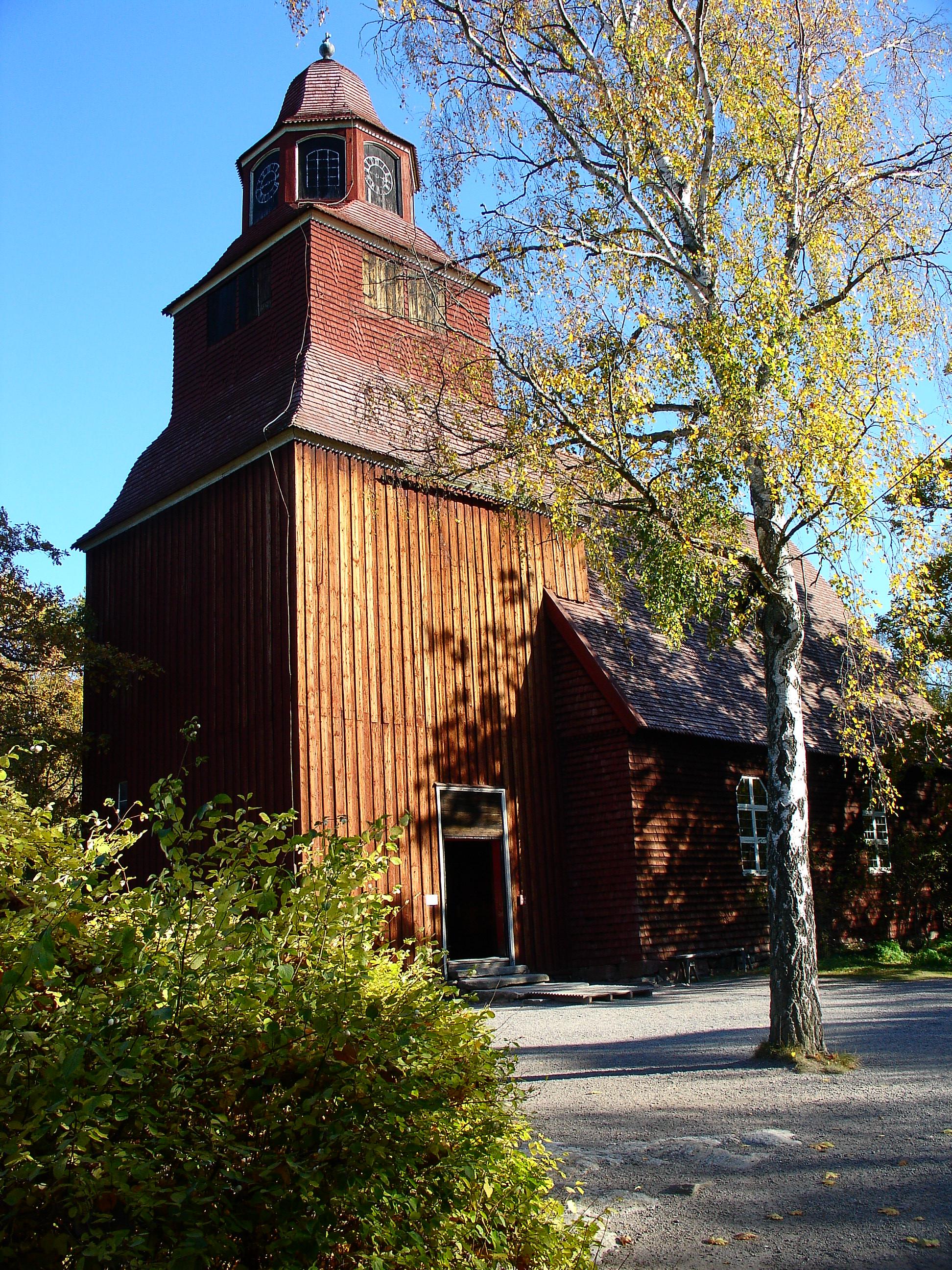 Bild av Seglora kyrka