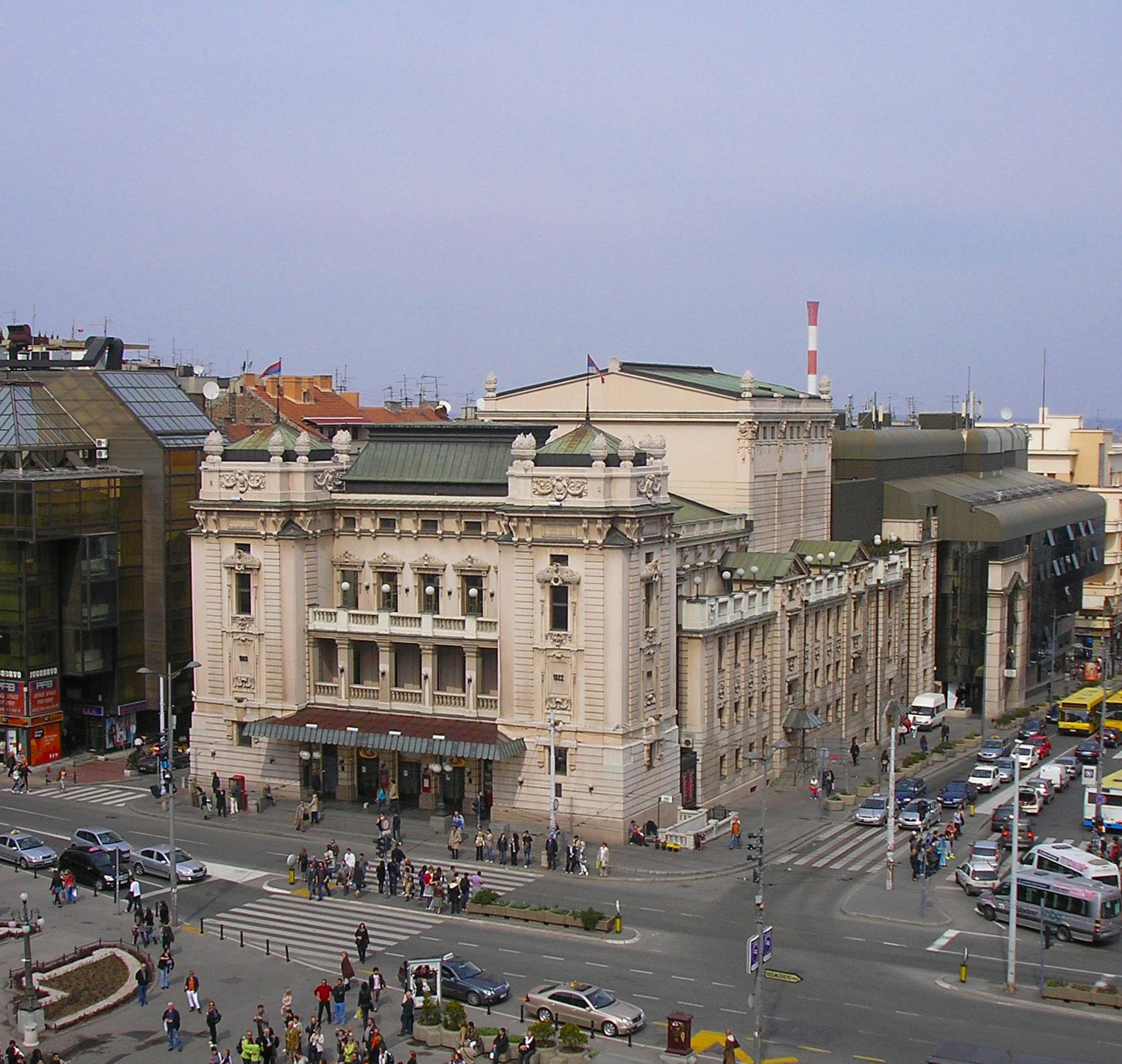 Narodno Pozoriste Beograd Narodno Pozori te u Beogradu