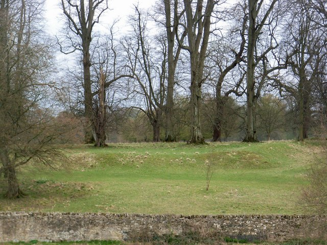 Settlement in Cornbury Park - geograph.org.uk - 406553